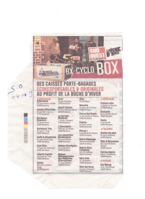 BxCyCloBox SudOuet annonce